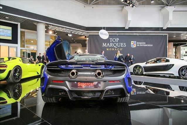 2016 Top Marques Monaco organizasyonundan görüntüler