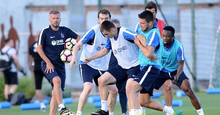 Trabzonspor, Slovakya'da 5 maç yapacak