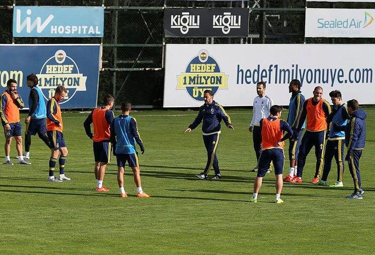 Fenerbahçe'de Caner - Pereira gerginliği