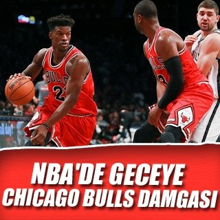 Gecenin en farklı skoru Chicago Bulls'tan
