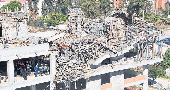 SSK inşaatındaki çökme davasında 5 kişiye ceza