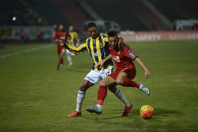 Gaziantepspor Fenerbahçe maçının kareleri