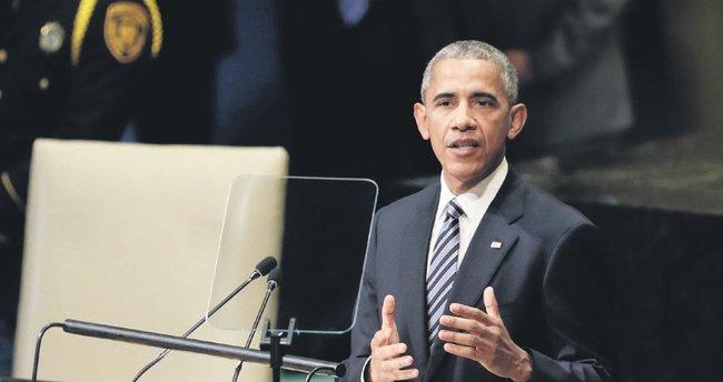 Obama BM'de son kez konuştu: Suriye'de askeri çözüm olamaz