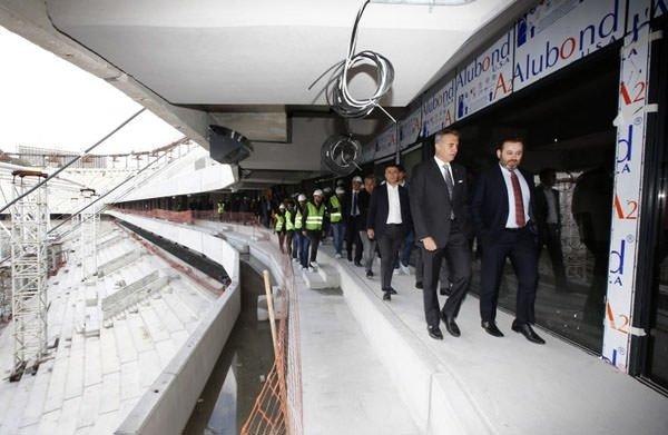 Vodafone Arena'da tarihi an