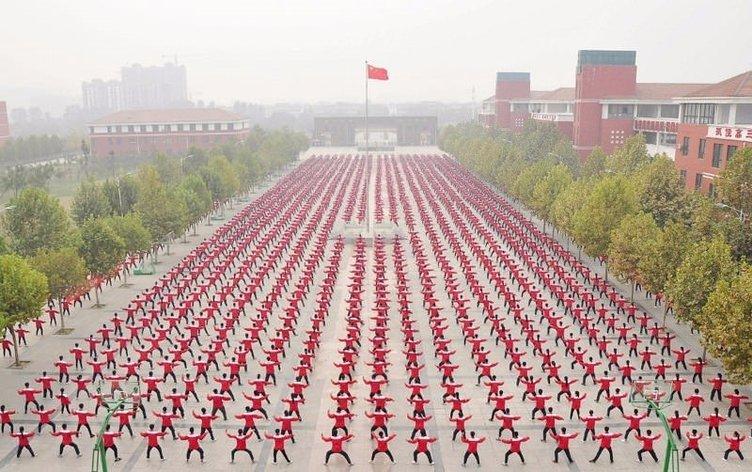 Kalabalığın en nizami ülkesi: Çin