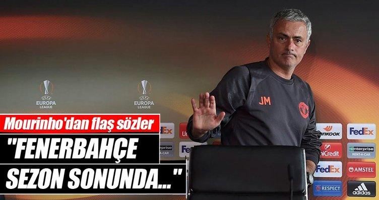 Mourinho'dan Fenerbahçe açıklaması