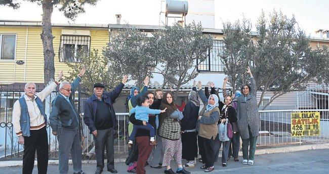 Satılık baz istasyonlu eve vatandaş tepkisi