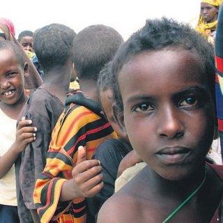Afrikalı çocuklar için acil yardım çağrısı