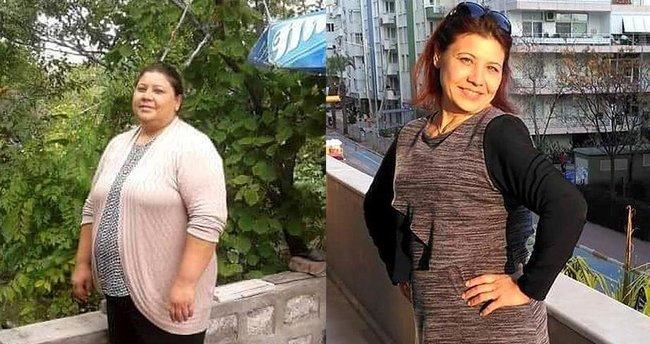İki can arkadaş 150 kilo verdi