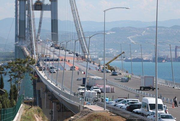 Osmangazi Köprüsü hazır!
