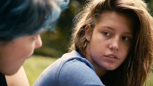 Mavi En Sıcak Renktir filminden kareler