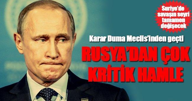 Rusya'dan Suriye'de kalıcı olma hamlesi