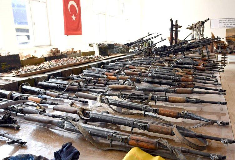 Çukurca'da Mehmetçikten ağır darbe yiyen PKK'dan geriye kalanlar