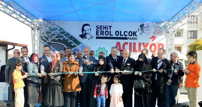 Şehit Erol Olçok'un ismi parkta yaşatılacak