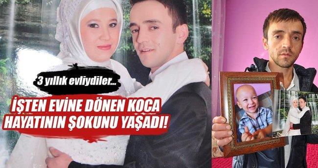 14 gündür kayıp eşi ve oğlunu arıyor