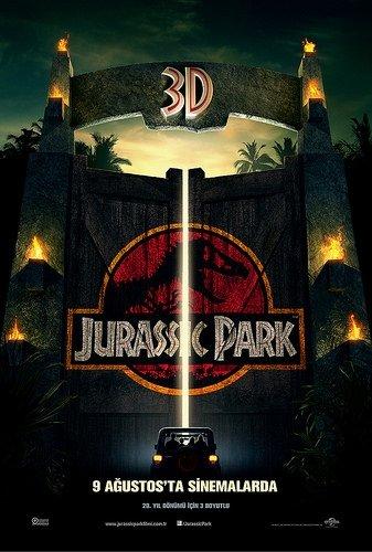 Jurassic Park filminden kareler