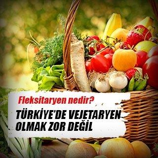 Türkiye'de vejetaryen olmak zor değil