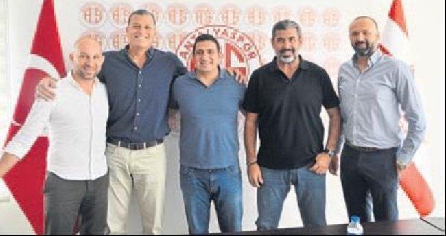 Antalyaspor'un potada yönetimi belirlendi