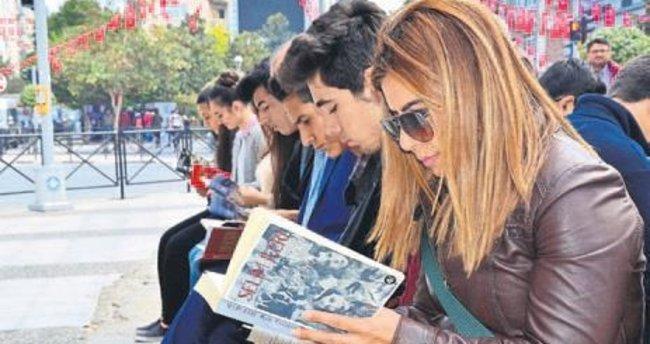 Okuyan şehir Manisa projesi