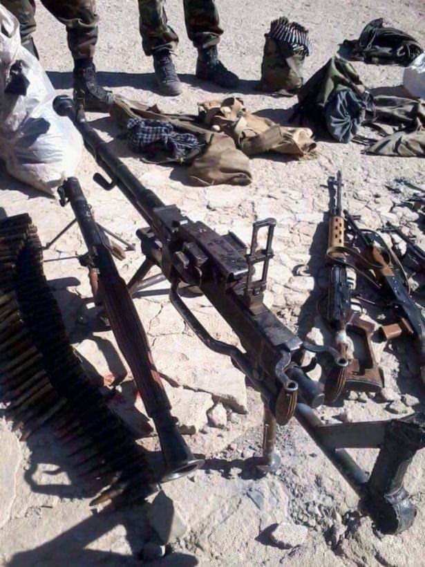 Dağlıca'da teröristler ölü ele geçirildi