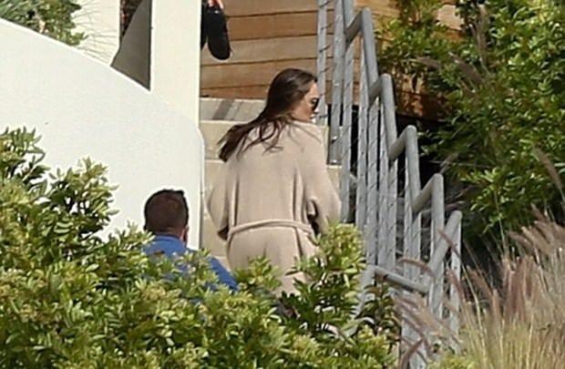 Angelina Jolie'nin ilk görüntüsü