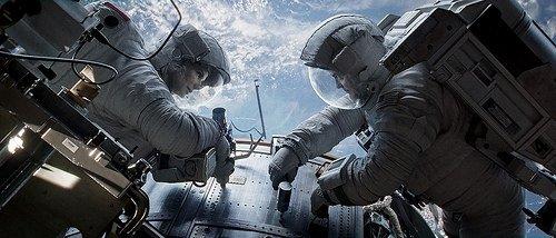 Yerçekimi filminden kareler