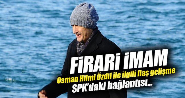 Emniyet imamı Özdil'in SPK'daki irtibatına tutuklama!
