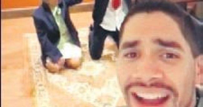 Camileri ziyaret edip özür diliyor