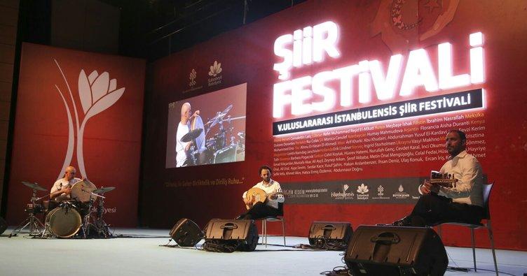 Dünyanın şairi istanbul'da