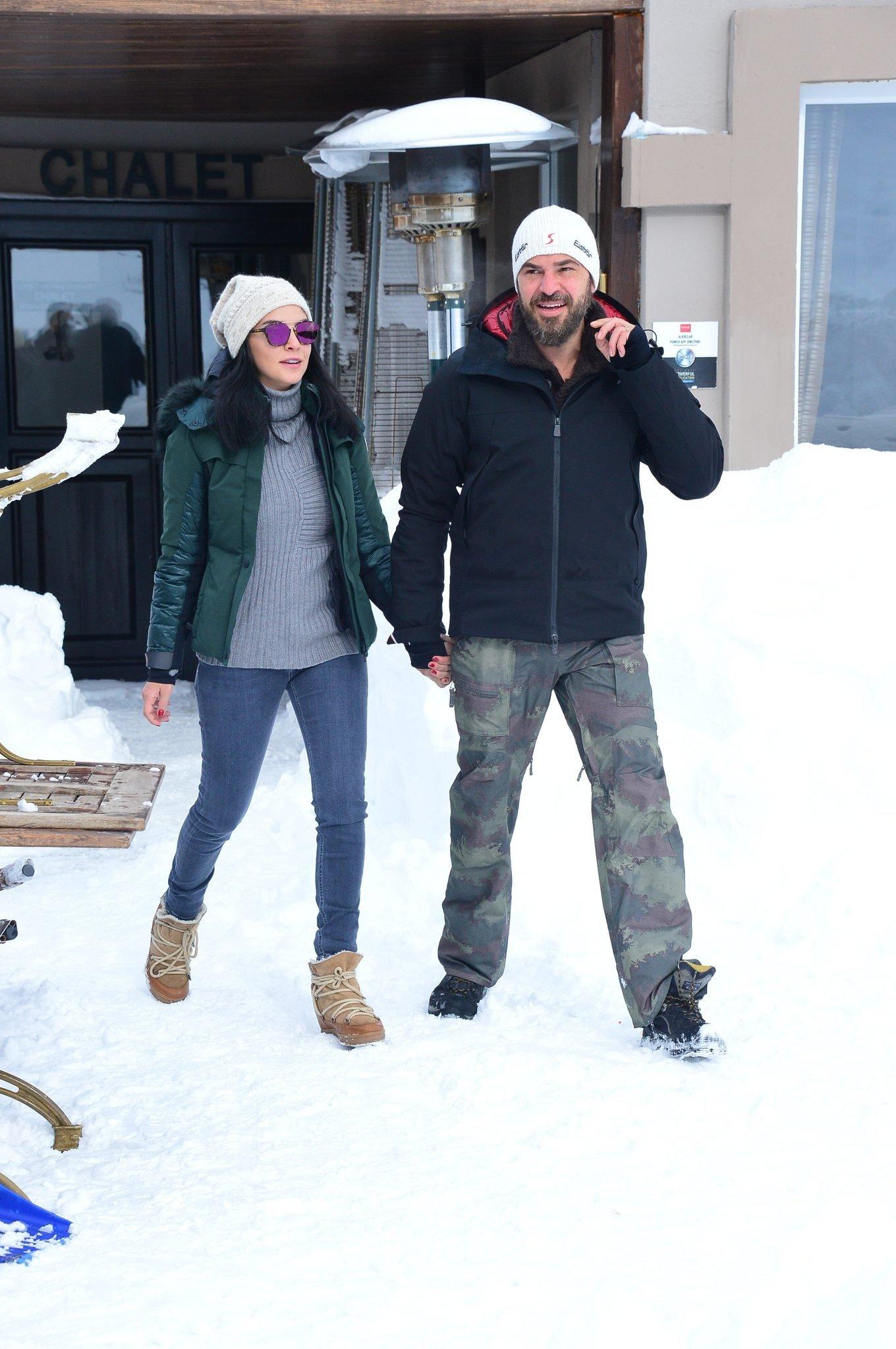Engin Altan Düzyatan karlar üzerinde şov yaptı