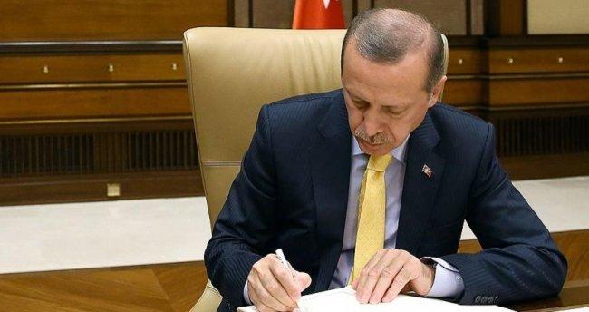Cumhurbaşkanı Erdoğan'dan o kanunu onayladı