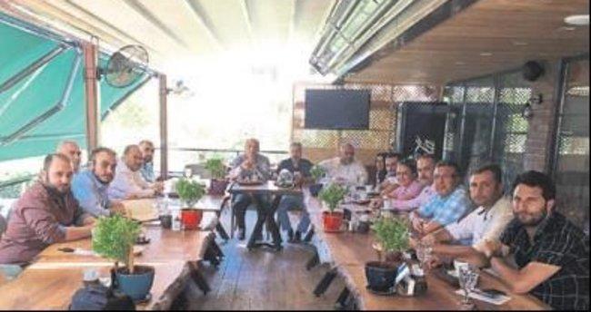 MÜSİAD üyeleri kahvaltıda buluştu