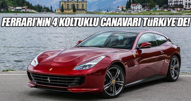 Ferrari GTC4Lusso Türkiye'de!