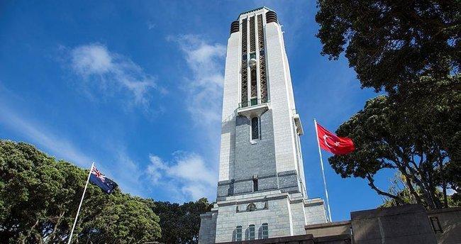 Yeni Zelanda'da Türk anıtı açıldı