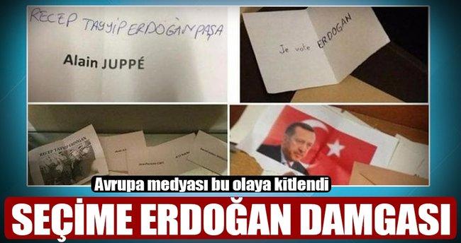 Seçimlere Erdoğan damgası