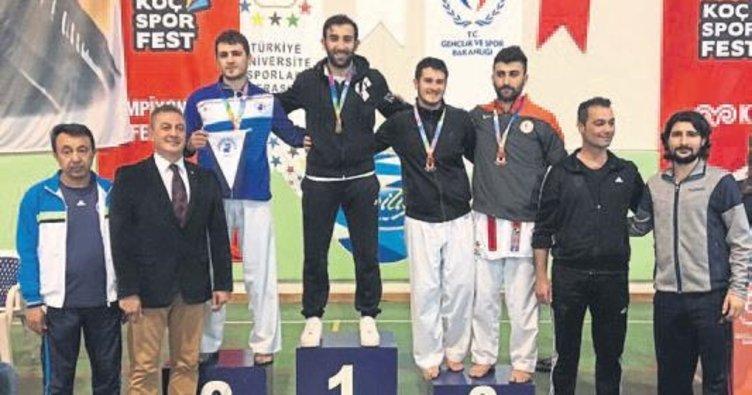 Türkiye karate şampiyonu HKÜ'den
