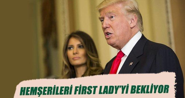 Hemşerileri First Lady'yi bekliyor