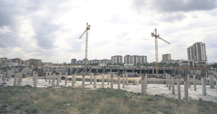 Stat inşaatı hızlandı