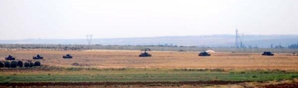 Türk tankları Suriye'nin Çobanbey ilçesine girdi