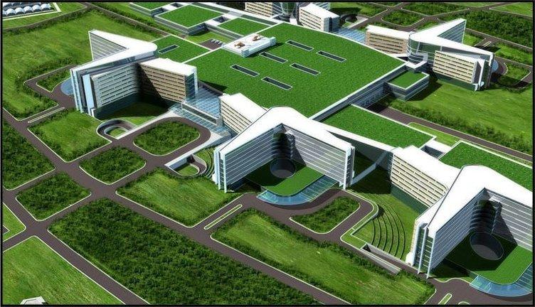 Etlik Şehir Hastanesi'nin temeli atıldı