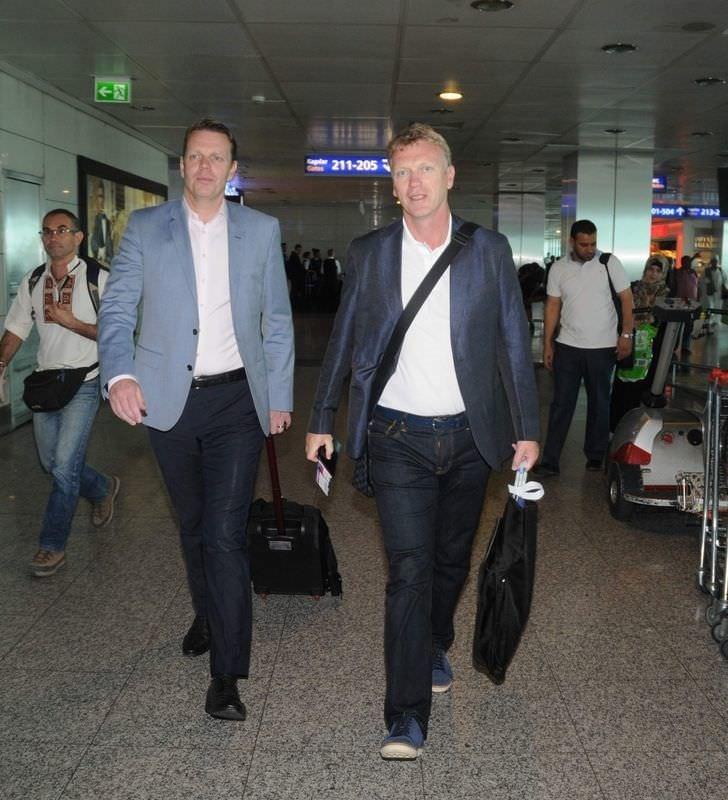 David Moyes İstanbul'dan ayrıldı