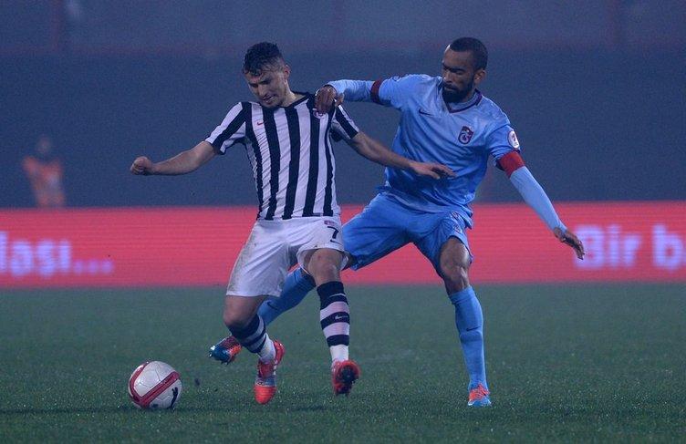 Trabzonspor - Keçiörengücü maçının fotoğrafları
