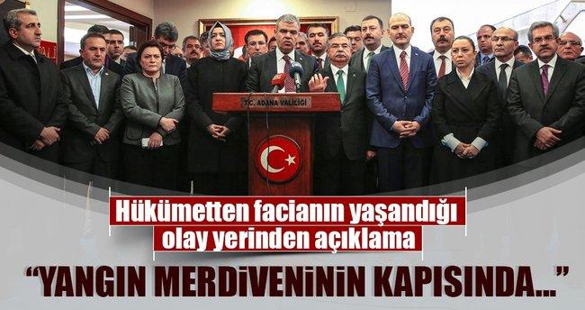 Başbakan Yardımcısı Kaynak'tan faciayla ilgili açıklama