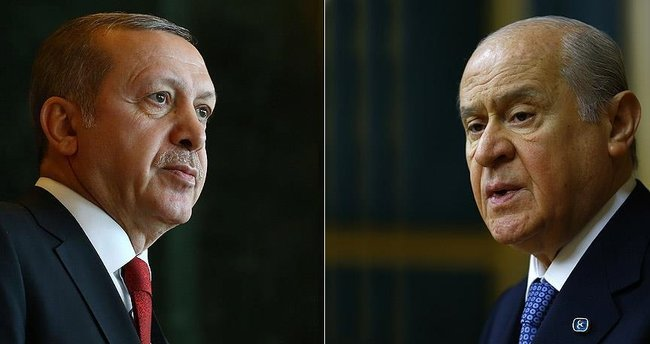Cumhurbaşkanı Erdoğan, Bahçeli görüşmesi 15.00'e alındı!