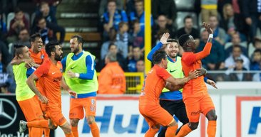 Club Brugge - Medipol Başakşehir maçından kareler