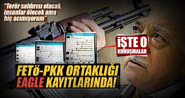 FETÖ-PKK ortaklığı Eagle kayıtlarında
