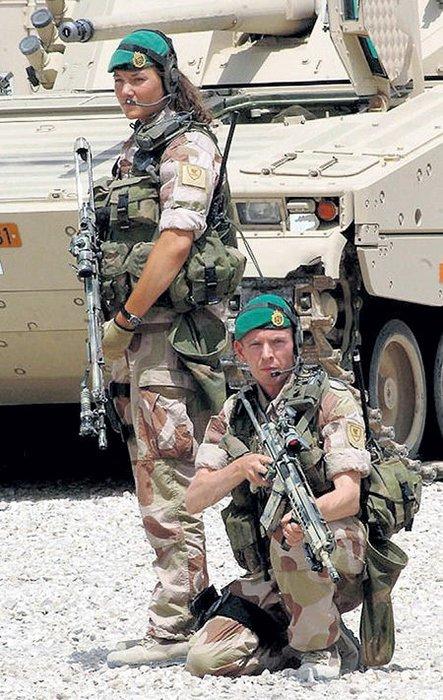 Orduda unisex koğuş