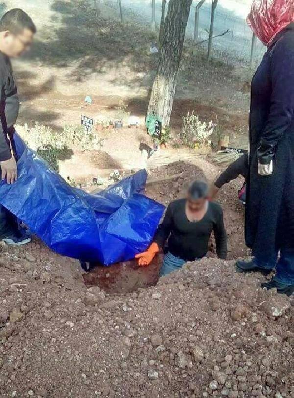 PKK'lının cenazesi mezardan çıkarıldı!