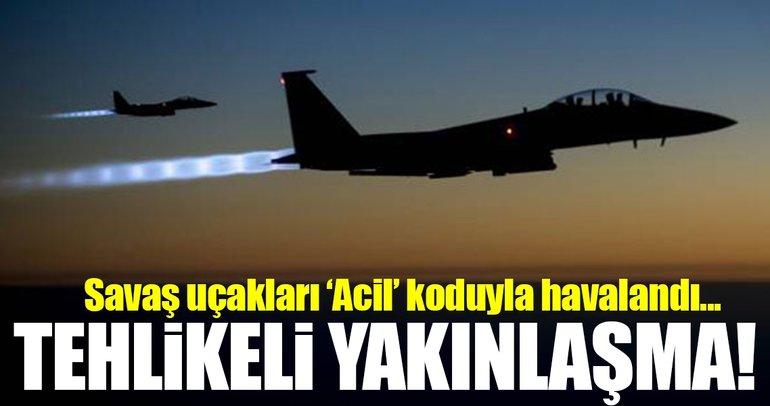 İngiliz jetleri, Rus savaş uçaklarına karşı havalandı!