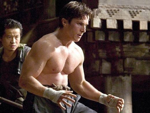Christian Bale'in inanılmaz değişimi
